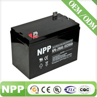 high performance 6v 200ah lead acid battery for golf car