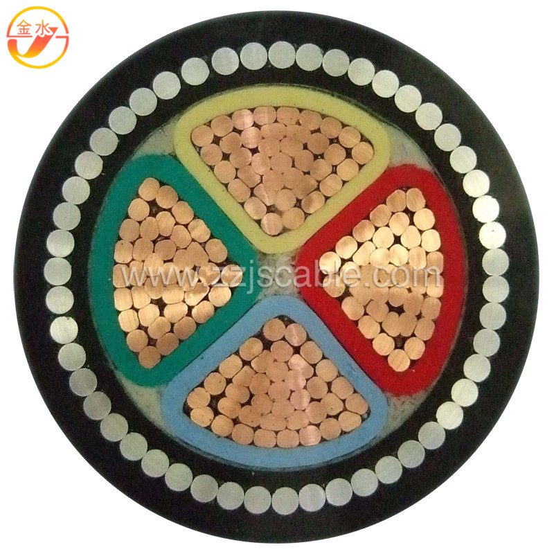 4 Core Copper Conductor XLPE Insulated Power Cable