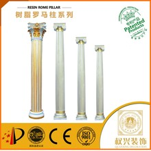Water proof plastic pillars for wedding decoration for shops