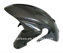 Carbon front fender for Suzuki motorcycles