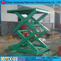hydraulic cargo scissors trail lifting platform