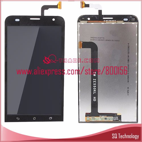 Alibaba Hot Sale for Asus Zenfone 2 Laser ZE550KL LCD Screen Display + Touch Digitizer