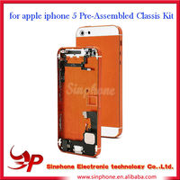 Competitive Price Product for iphone 5 24k gold housing