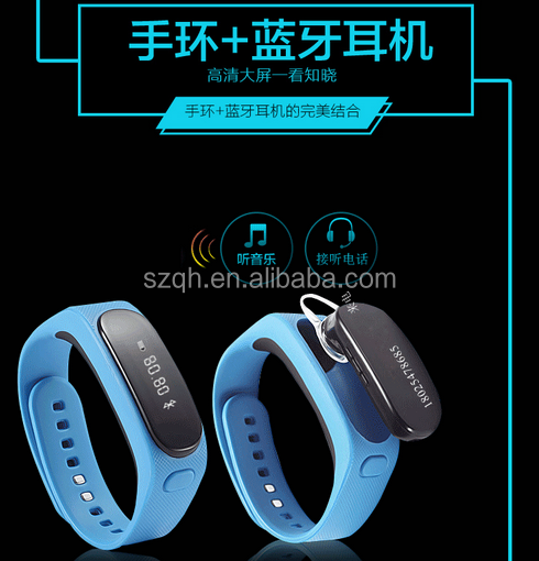 Smart Bracelet Bluetooth Wrist Watch Phone for iOS Android iPhone Samsung Support Caller ID, Health Pedometer Bluetooth Sync