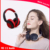 Elaborate artificial protein leather bluetooth headset and Built-in mic for headphone functionlity for media and phone calls