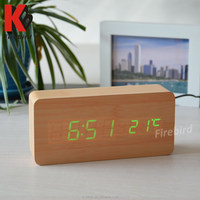 Promotional kenko digital clock with calendar temperature desktop for complimentary gift