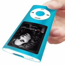 Built-in 32GB mp4 new 3 colors FM video 4th gen music player sporft mp4 with free earphone and cable