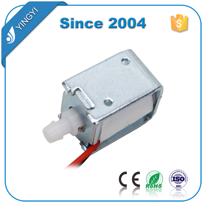 High Performance low price micro spray valve normally opened solenoid valve 6v