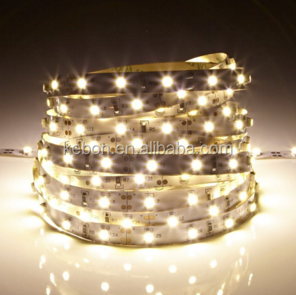 high quality Smd 3528 4.8w indoor 12v cattable led strip lights