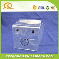 New type PVC product button plastic stand up cosmetic packaging punch