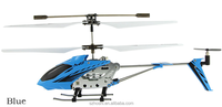 RC Helicopter M3 3.5 Channel Mini Indoor Co-Axial Metal RC Helicopter w/ Built in Gyroscope