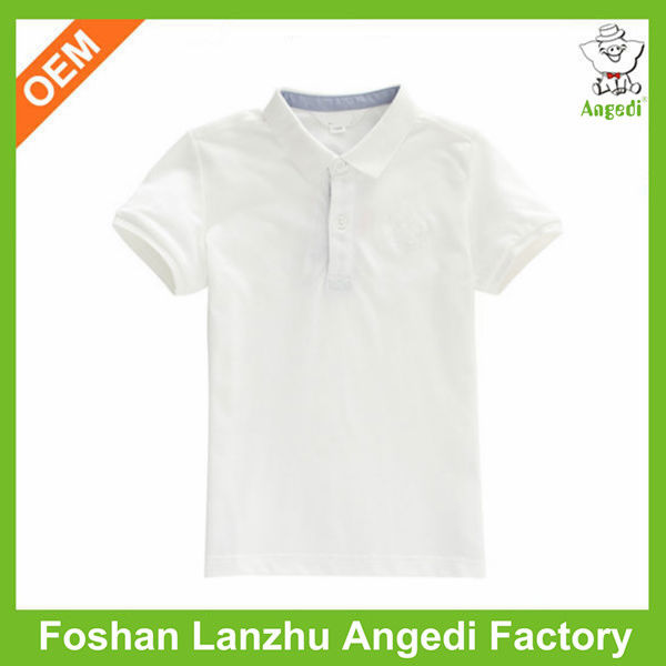 Latest polo shirt designs for boys from guangzhou manufacturer