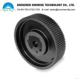 OEM Machining Service Supplier Customized Aluminum Timing Belt Pulley CNC Machining Parts