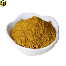 Iron oxide yellow concrete pigment powders for industrial materials