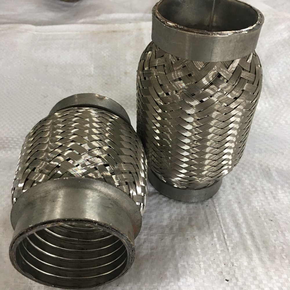 Stainless Steel interlock flex pipe /exhaust muffler