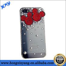 2014 fashion mobile rhinestone phone case,Customized design is available