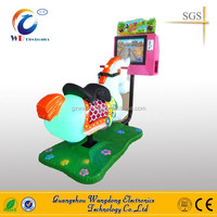 Promotion price kids crazy 3D horse racing amusement riding