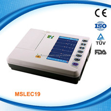 Popular six channel ECG machine MSLEC19-M