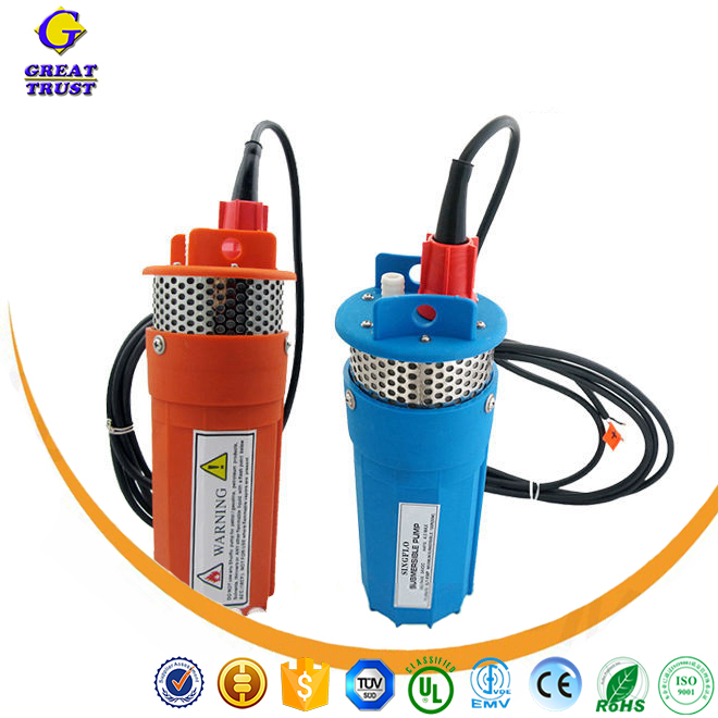 solar aquarium pump solar powered irrigation water pump submersible solar pump with CE certificate