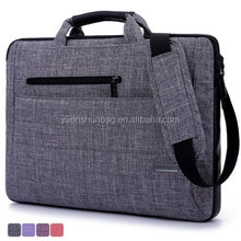 15.6-Inch Multi-functional Suit Fabric Portable Laptop Bag Briefcase Notebook(free sample )