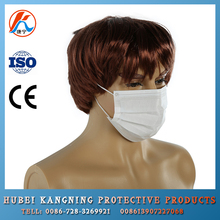 China mouth cover mask 2 ply nonwoven anti dust face mask