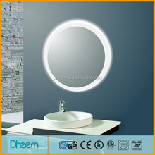 High Brifhtness Round UL Certificated Toilet LED Mirror
