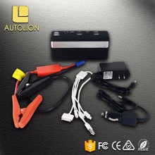Multi-function emergency car portable battery mini multi bulk jump starter power bank car jump start booster