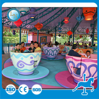 New design amusement park rides 1 cup 1 coffee games