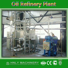 HNLY advanced CE certified soybean oil refinery machine with competitive price, soy flakes solvent extraction plant
