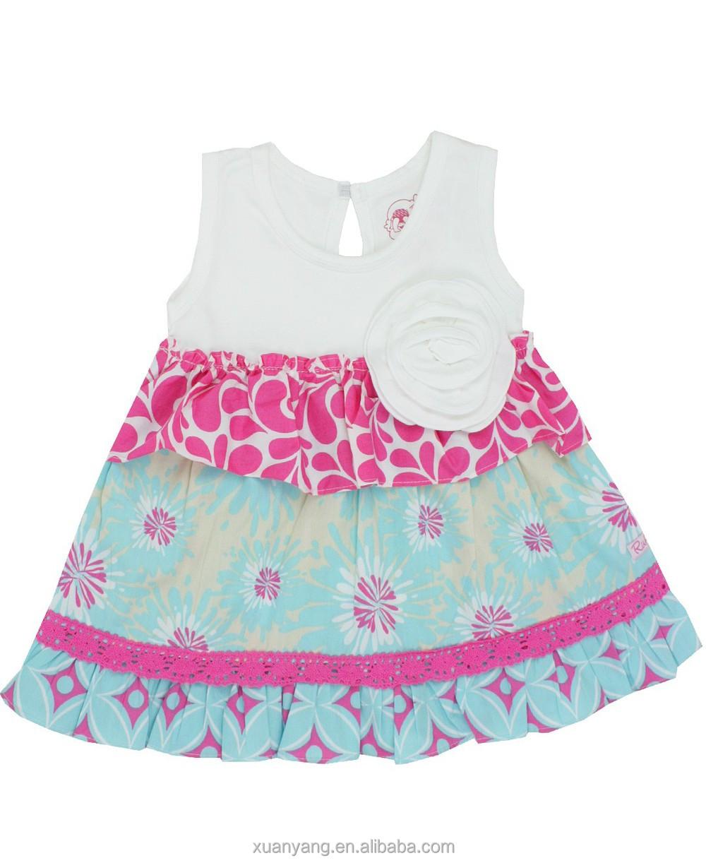 Niños al por mayor boutique de ropa de bebé niñas
