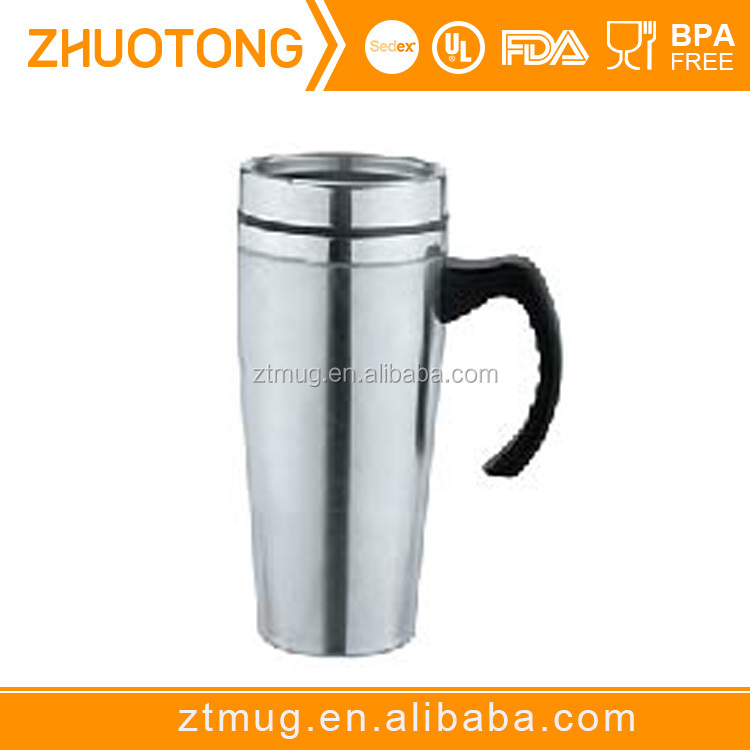 16oz insulated coffee tumbler,Stainless Steel Insulated Double Wall Travel Coffee Mug Cup Thermos Tea