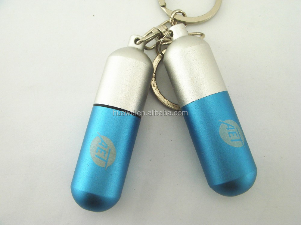 Popular Customized Design Promotional medicine pill shape metal usb