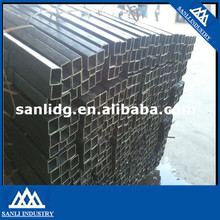 Cold rolled Rectangular welded Black carbon steel pipe/tube