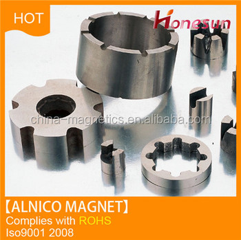 permanent alnico magnet customized special shapes