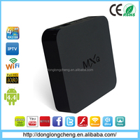 2015 New Hot Selling Set Top Internet TV Android Box MXQ OTT