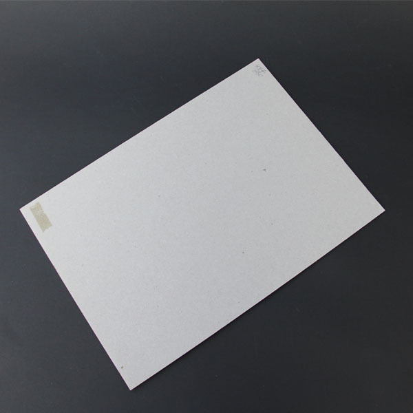 Supply AA grade Grey board paper manufacturer kappa boards