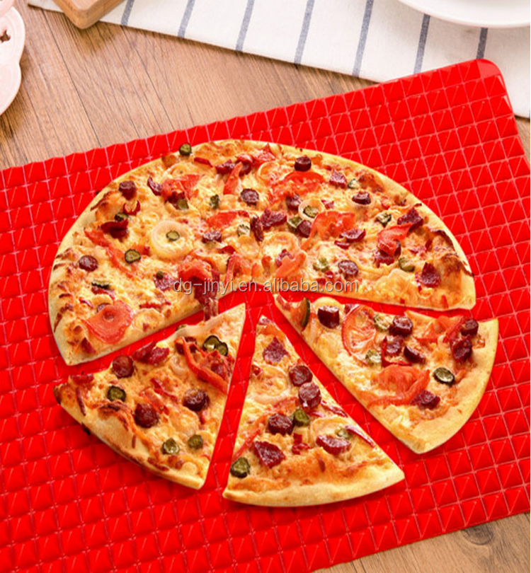 Customized heat resistant silicone pizza mat