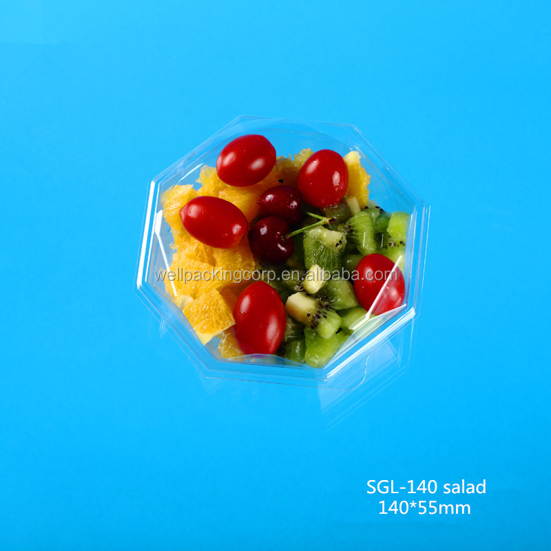 Well Packing Wholesale Disposable Plastic Salad Packing Cup