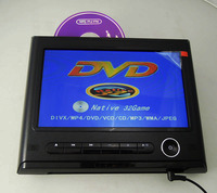 9 inch car headrest dvd player with wireless game good price