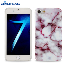 Amazon hot sale fashion stylish simple mobile back cover iml marble case for Iphone 7,8