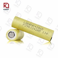 Original Cheap LG HE41865 2500mAh LG INR18650 HE4 2500mAh 3.7V Rechargeable Lithium Battery 18*65mm Polymer Battery