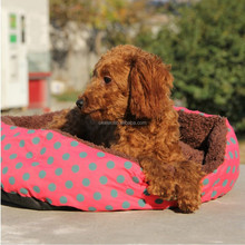 Cozy Soft Warm Fleece Pet Dog Puppy Cat Bed House with Pillow