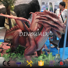 DW-0881 2017 Hot sale New dragon animatronic toothless statue