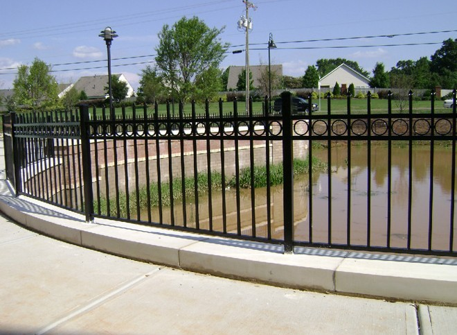 Steel fence design fences and gates fencing