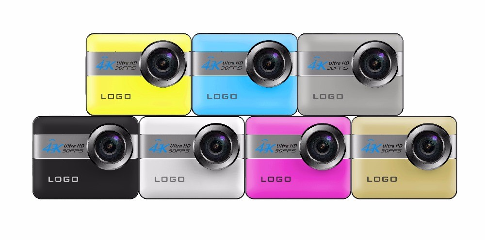 Newest model Touch Screen 2.31inch display action camera 4K WIFI N6 video cameras NTK96660 sport camera