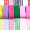 Newest Customized China Factory Supplier Crochet Lace Edging crochet cotton lace trim