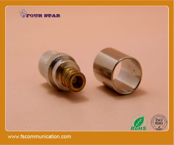 SMB female for cable LMR400 SMB rf connector crimp