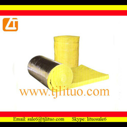 air duct insulation material fireproof glass wool batts
