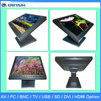 17 inch 1280X1024 LCD Resistive Touch Screen Monitor for Pos/Game/Computer