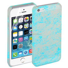 Stylish luminous in dark glowing back case cover cell phone accessory for iphone 5 5s